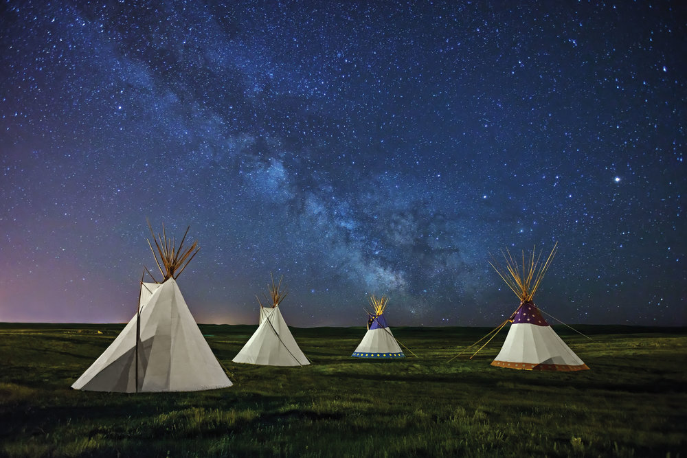 BLACKFEET LEGEND | Lodgepole Gallery & Tipi Village, Montana |  BUY PHOTO PRINT