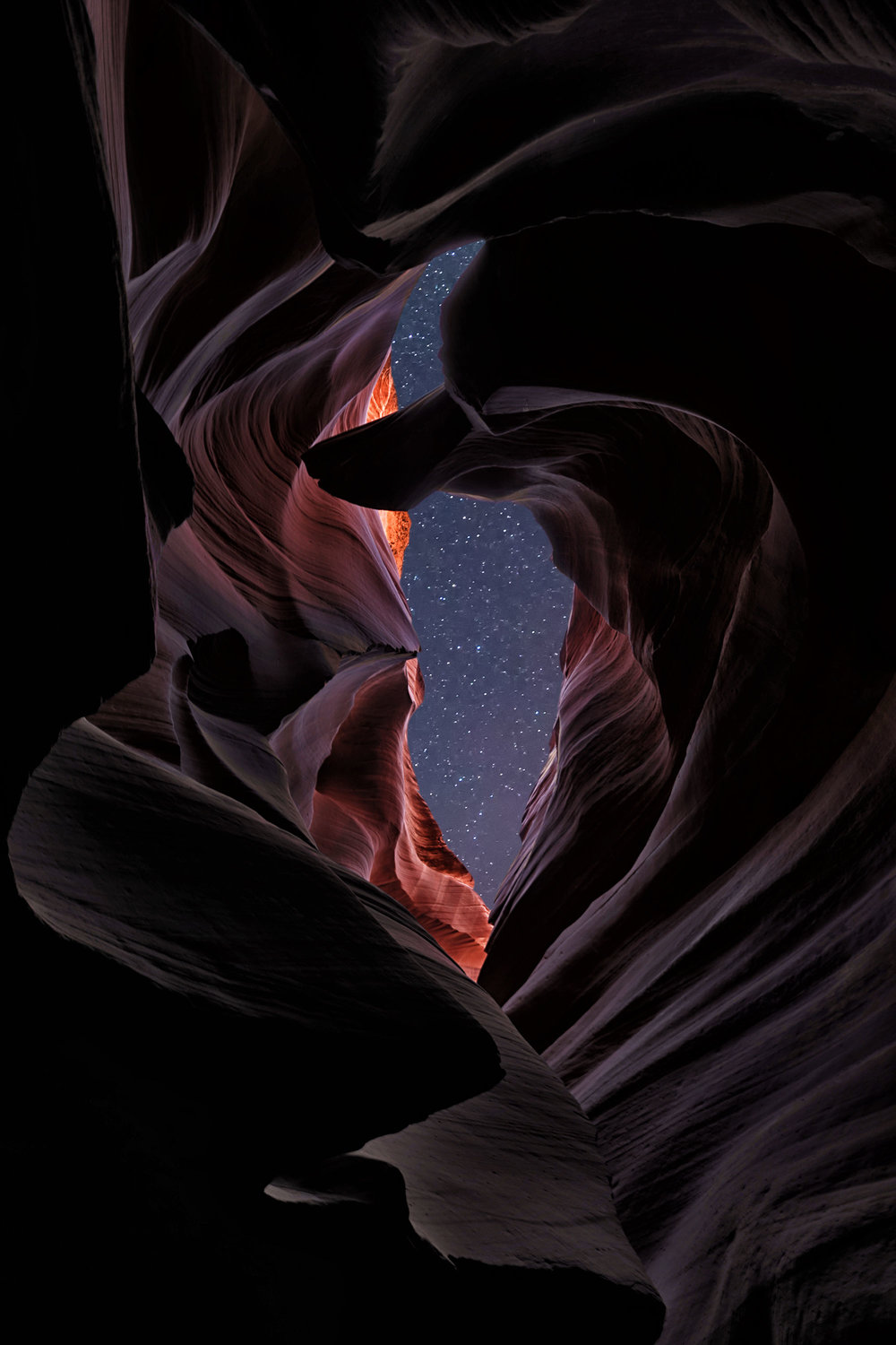 GALAXY PORTAL | Antelope Canyon, Arizona |  BUY PHOTO PRINT