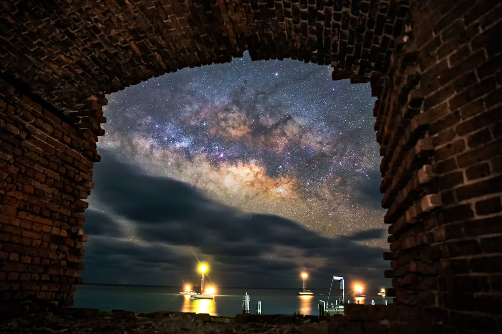 Experience One of the Darkest Places On the US Coast in This Timelapse
