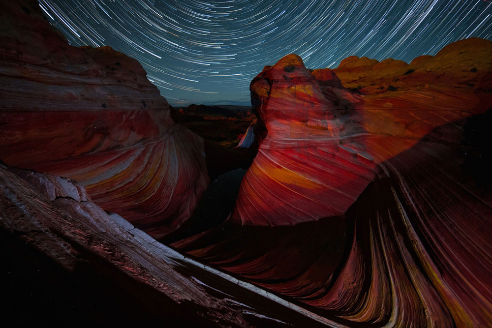 Spectacular new desert time-lapse