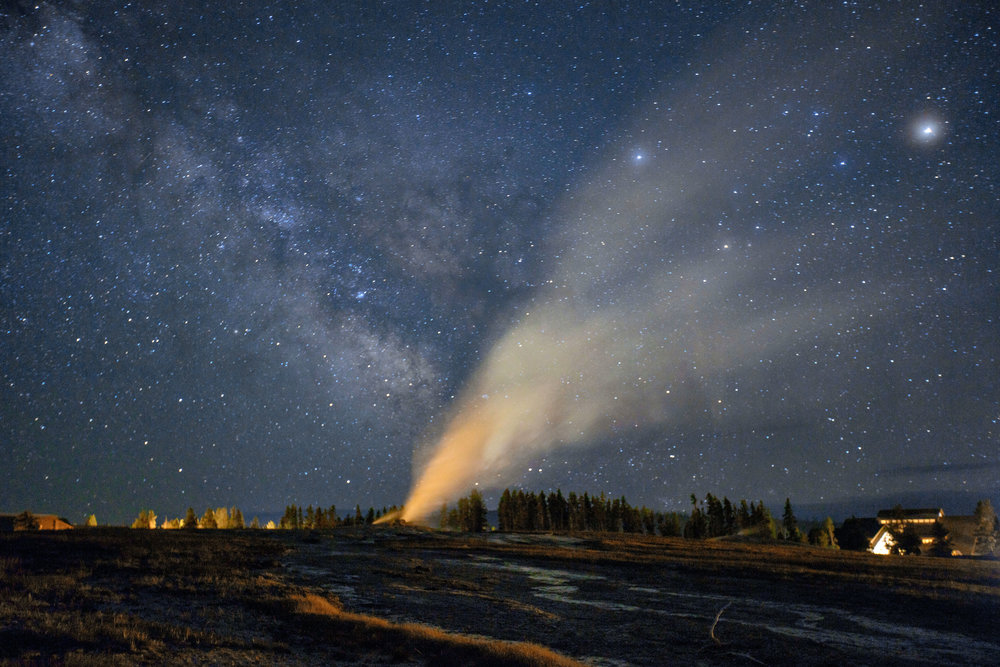 Time-lapse captures the fury of Yellowstone