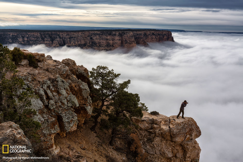 Grand Canyon Clouds - National Geographic Travel Daily Photo