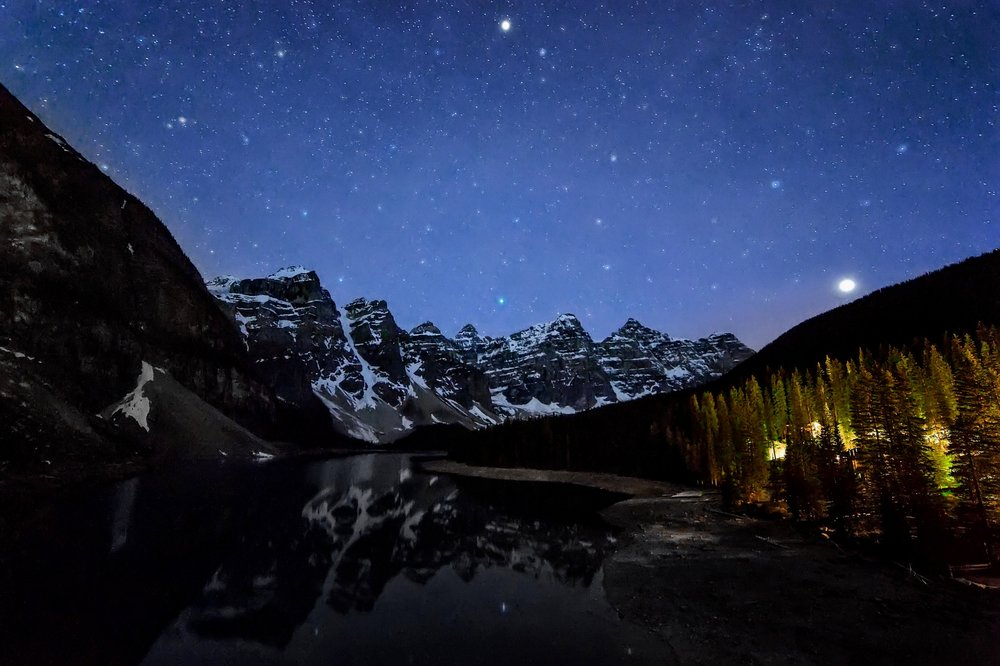 STARLIGHT MORRAINE | Banff National Park, Alberta | BUY PHOTO PRINT