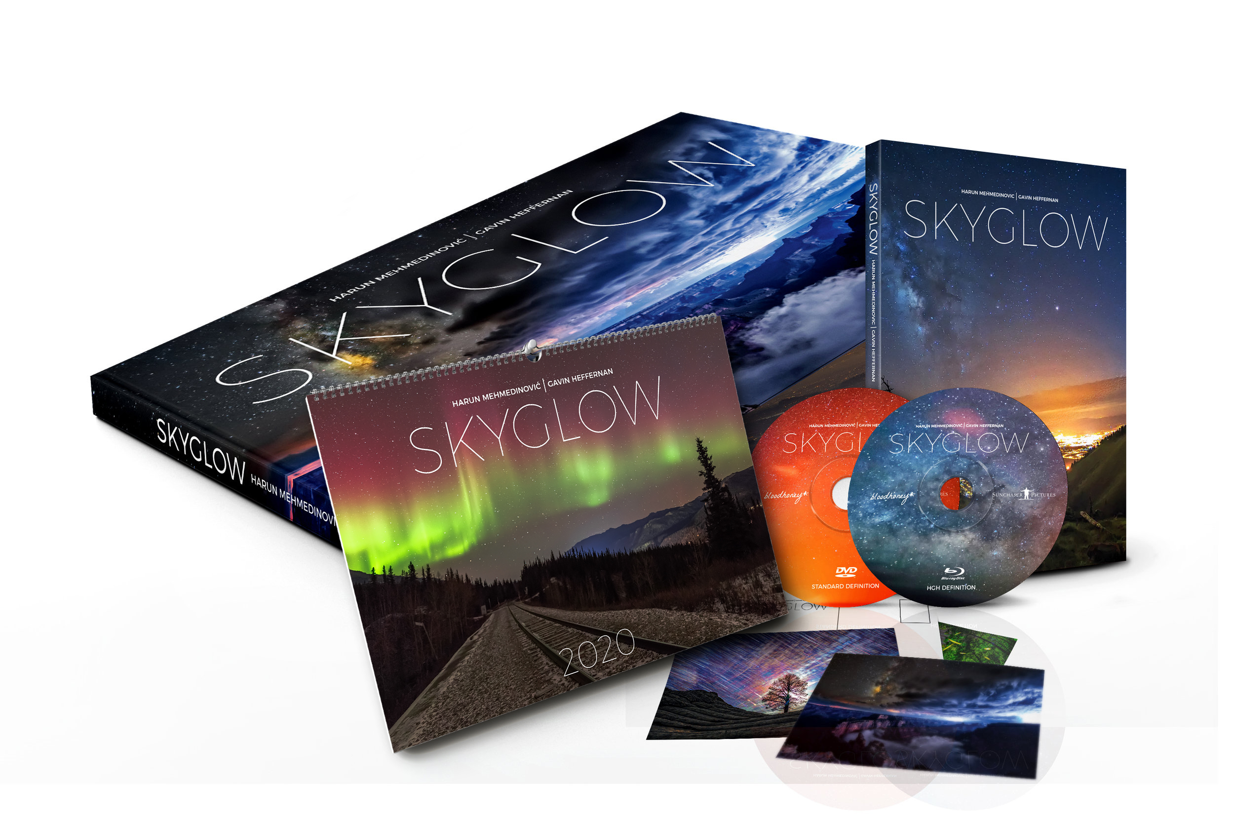 skyglow light pollution awareness project in collaboration with
