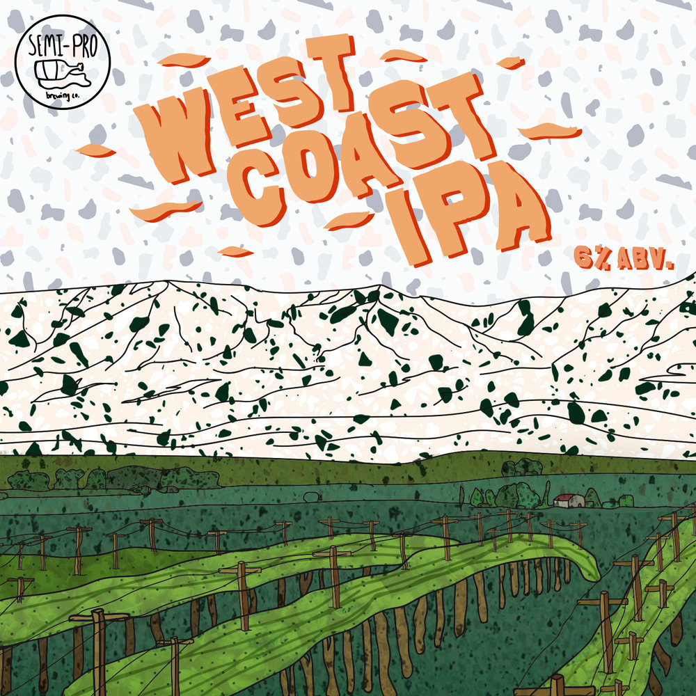 Inspired by the origins of the IPA in the Americas from the England, the East Coast IPA is a malt forward IPA with a sweet biscuit profile accompanied by pine and grapefruit with a firm rounded bitterness.