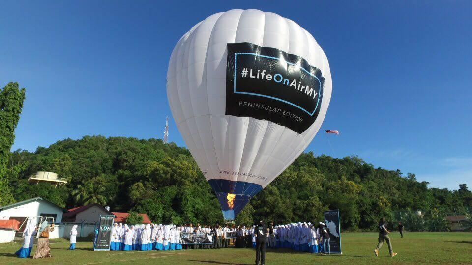 Balloon Workshop @ Sekolah Menengah Kebangsaan Sains Terengganu