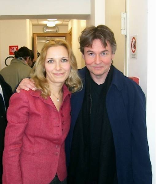 Tamara and Esa-Pekka Salonen