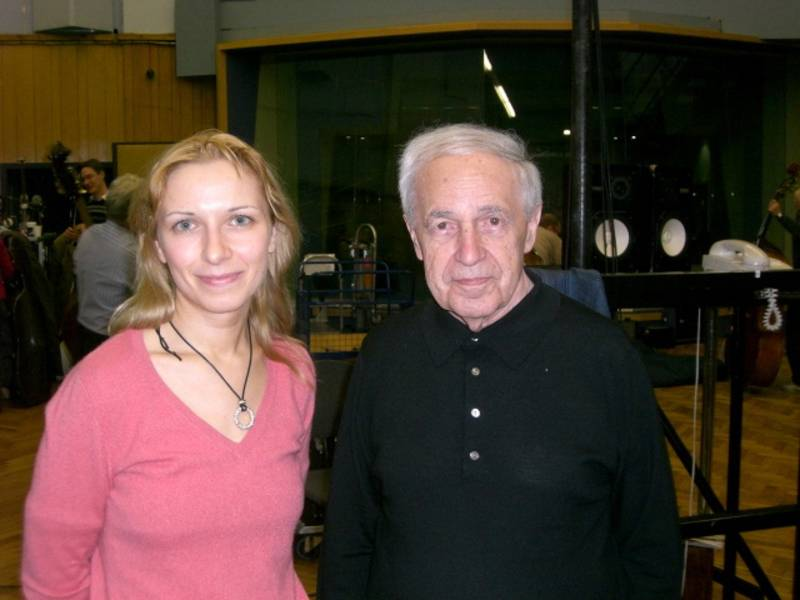 with Pierre Boulez