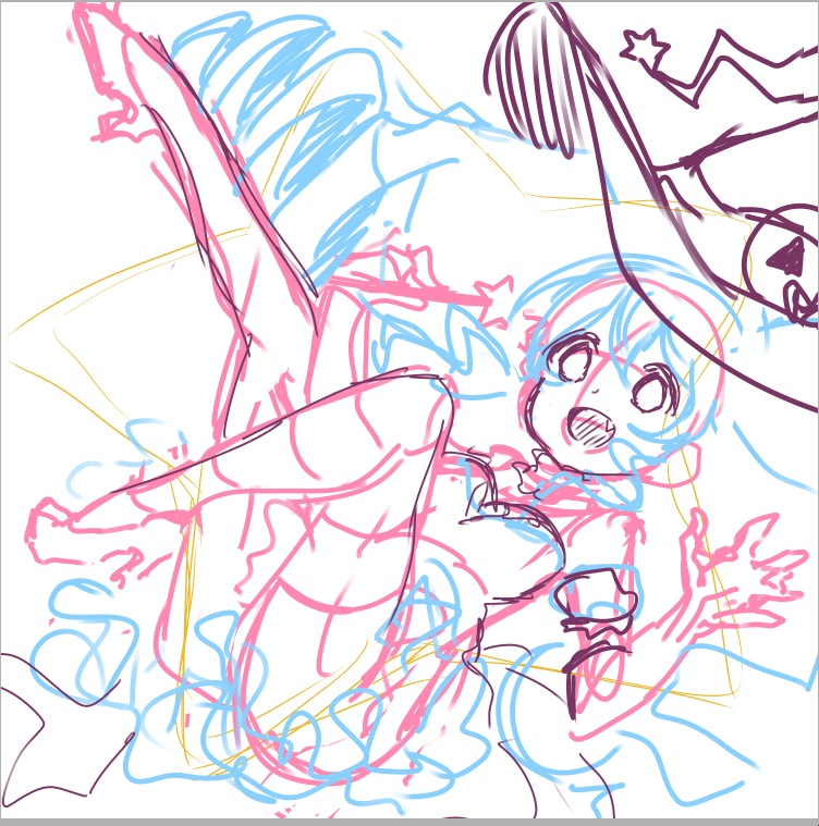 miku MAGIC NIGHT album art sketch.jpg