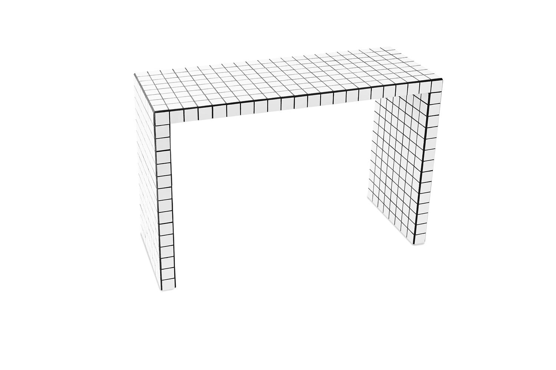 SHORT CONSOLE TABLE WHITE — IKON K˜BENHAVN