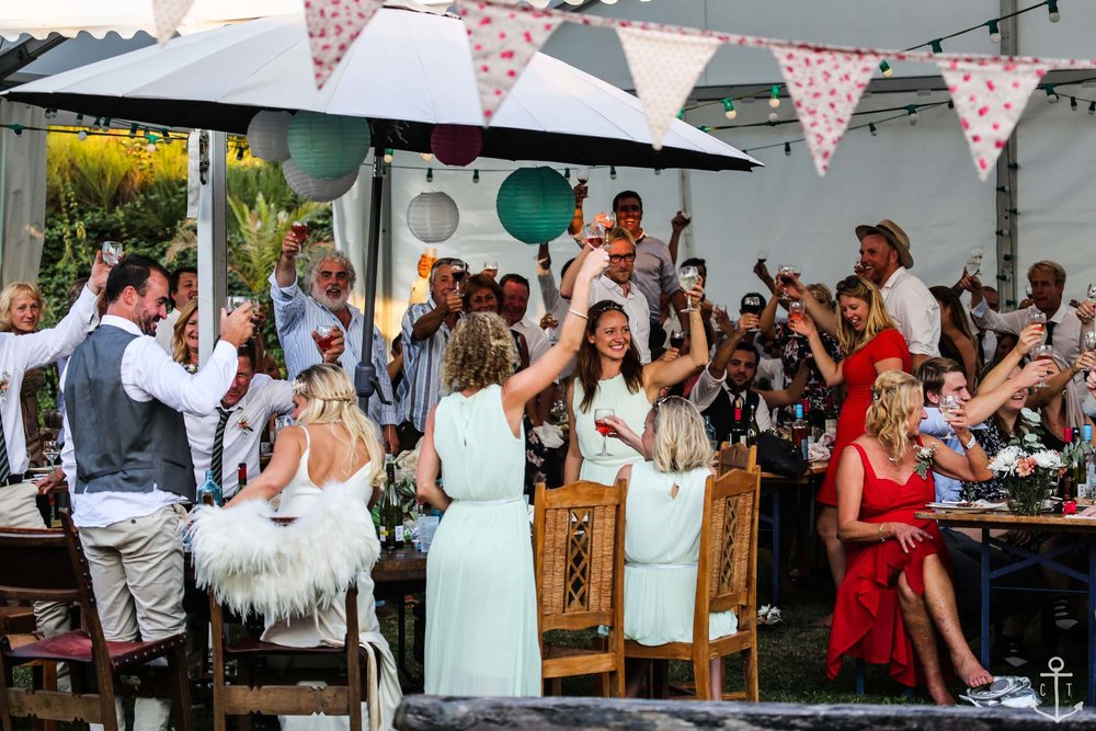 A festival wedding is a complete celebration that all your family and friends will enjoy! Keep the party going we say.
