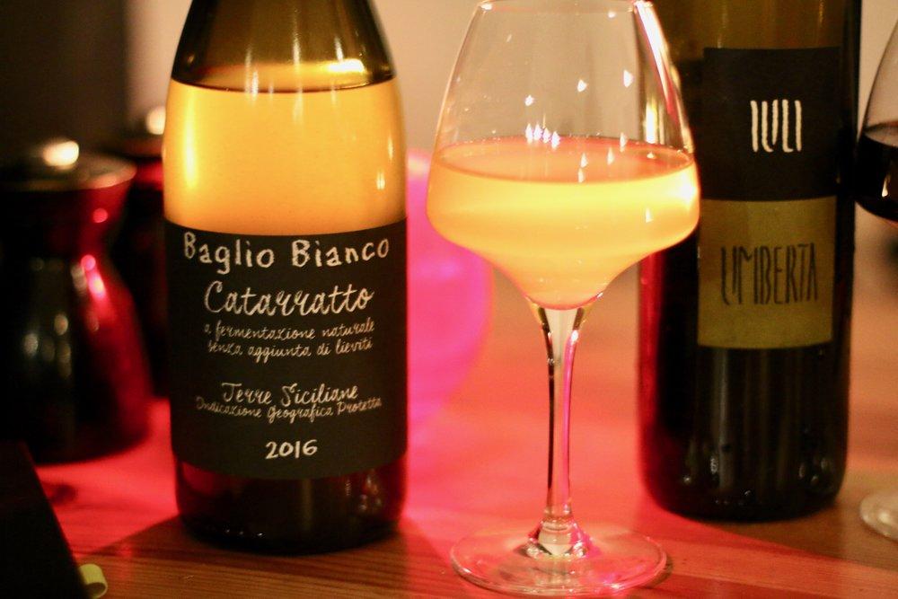 An orange wine from Mange Tout's biodynamic range