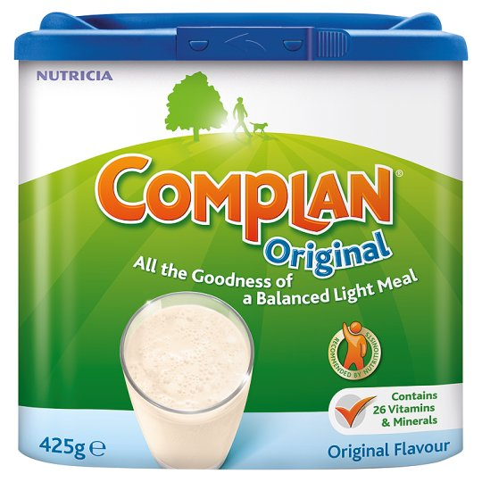 Complan: for people with dietary issues and fussy bastards
