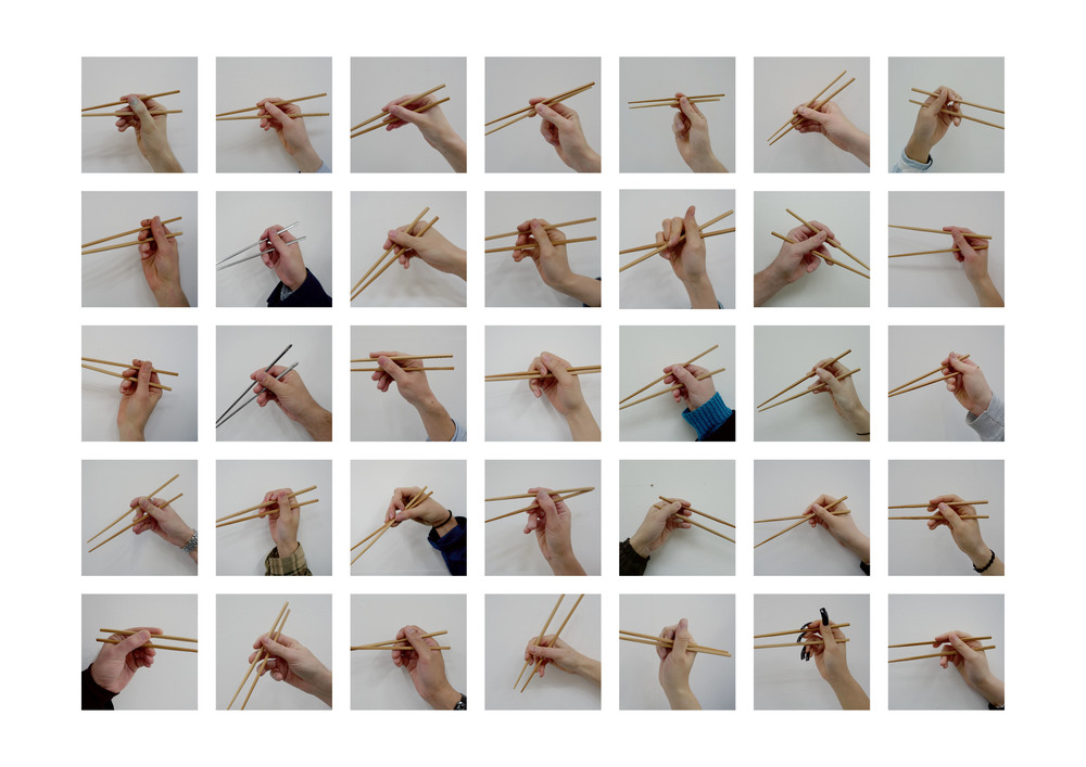 [Fig.1]  Chopsticks , 2016