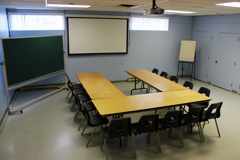 Salle Marcel-Giroux - PLAN EN U