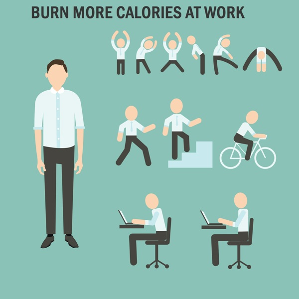 simple office exercise ideas wellbeing place