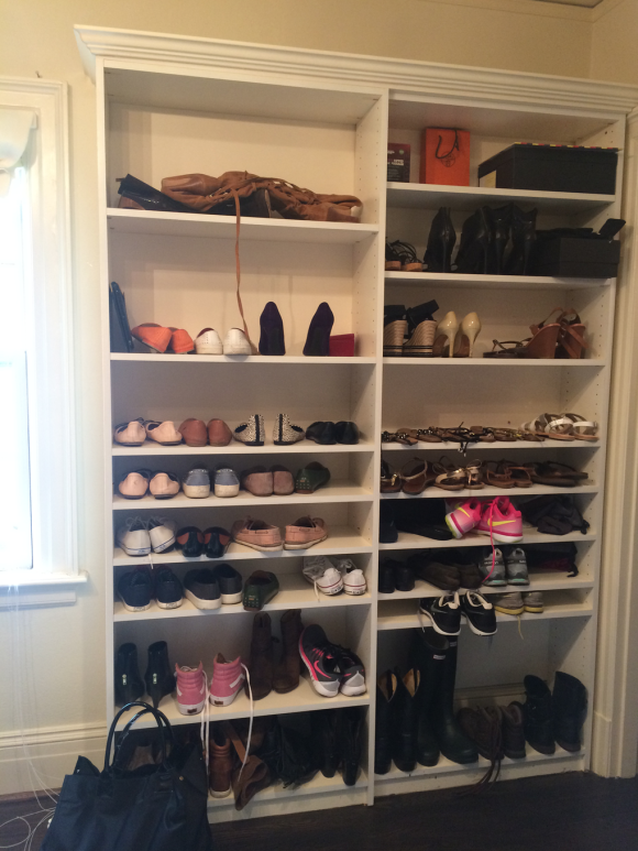 We Started Our Design By Contacting California Closets As Needed A More Functional Built In System Sure Could Have Had Contractor Come And Build