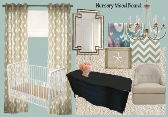 Nursery Mood Board