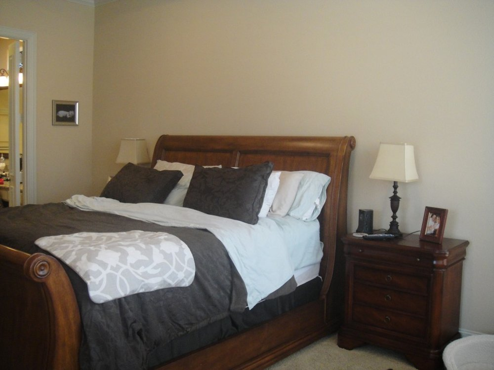 Clapp master Bedroom Project - Before 1