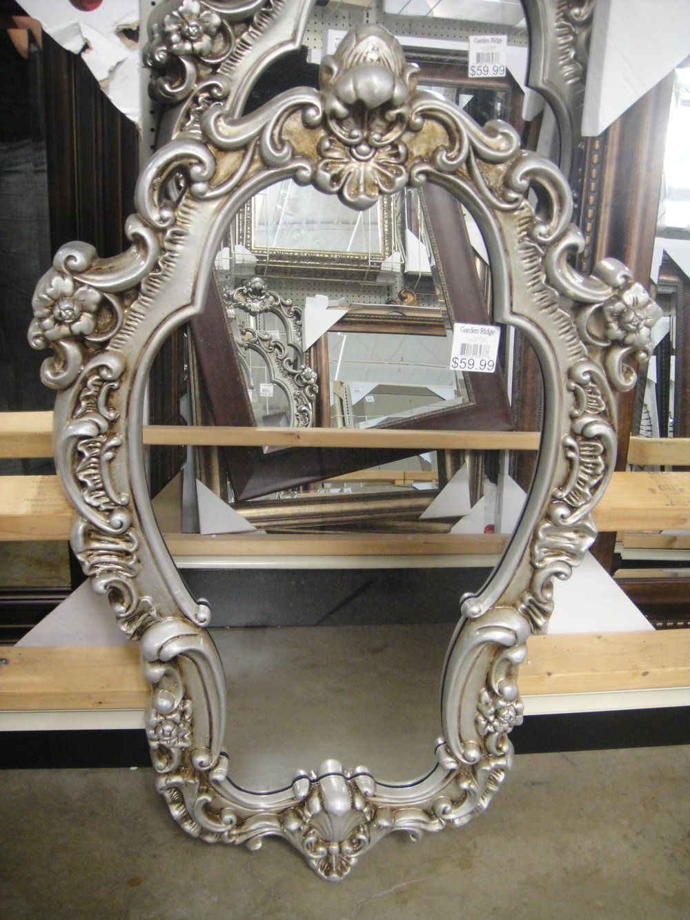 Mirror From Garden Ridge / Co ZGallerie Frugal Find