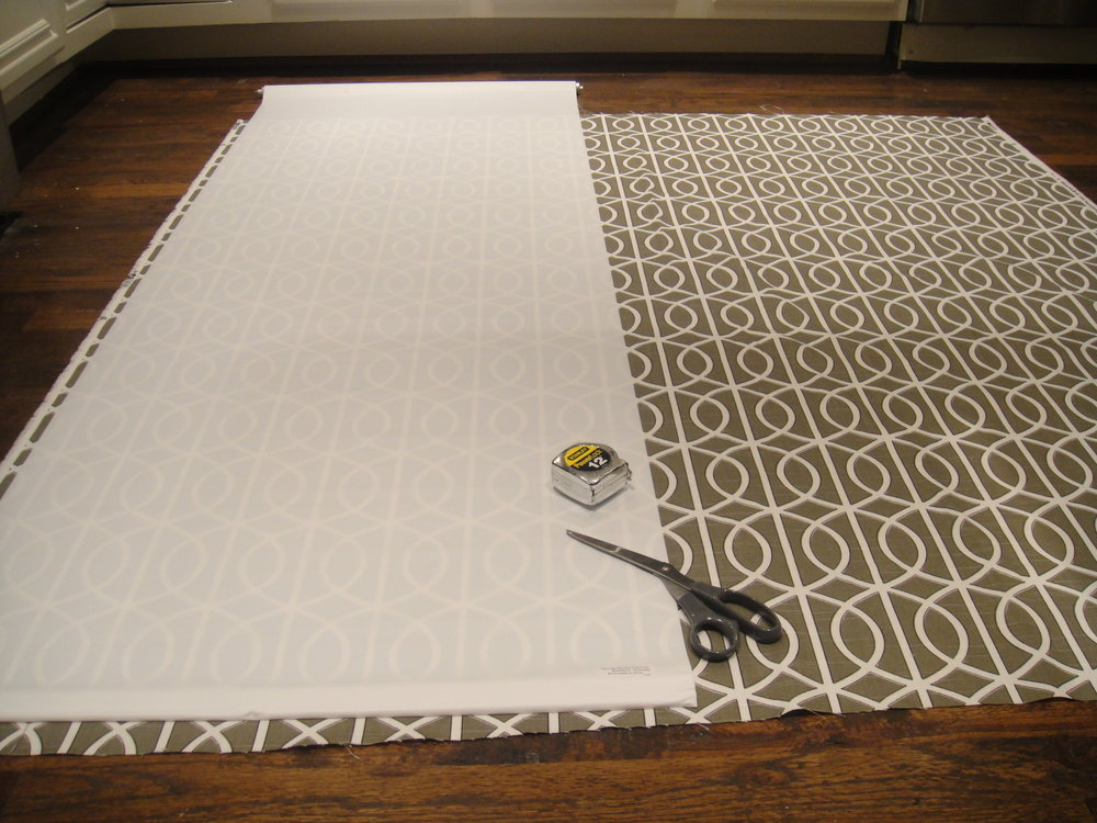 Quick And Easy Diy Window Shade A Well Dressed Home