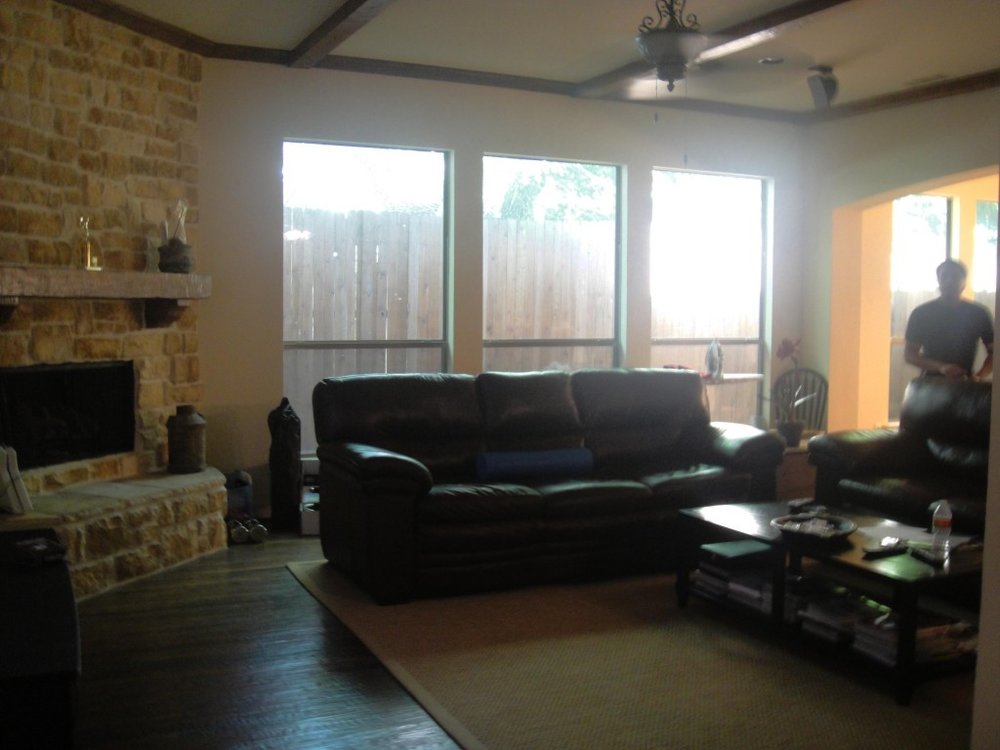 Tony Living Room Before