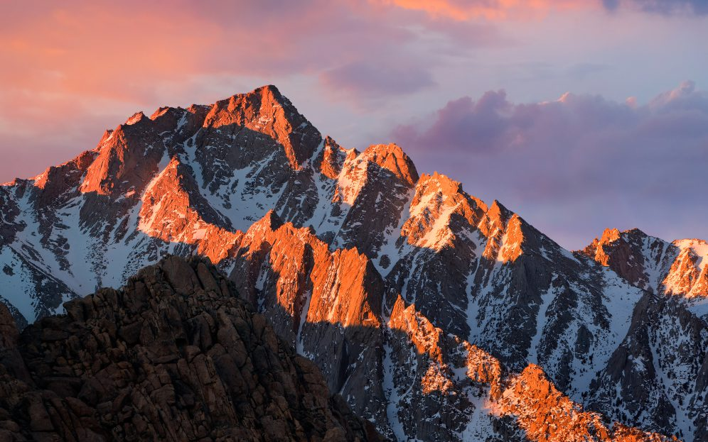 Sierra Mountain Range, California (Apple)