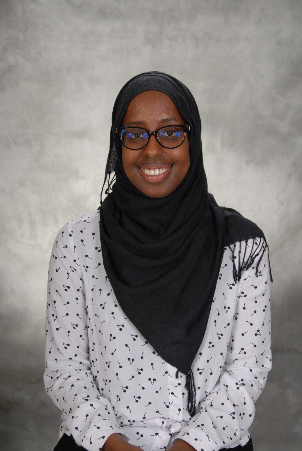 Aisha Ahmed - Webmaster