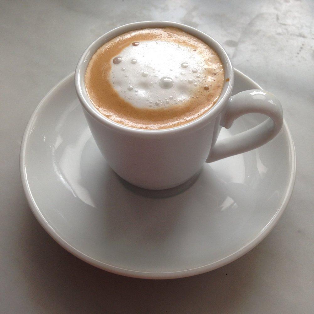 Homemade Caffè Macchiato...just need to work on my latte art!