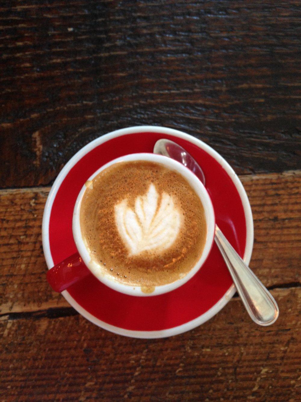 Caffè Macchiato at Milk Bar in Brooklyn NY