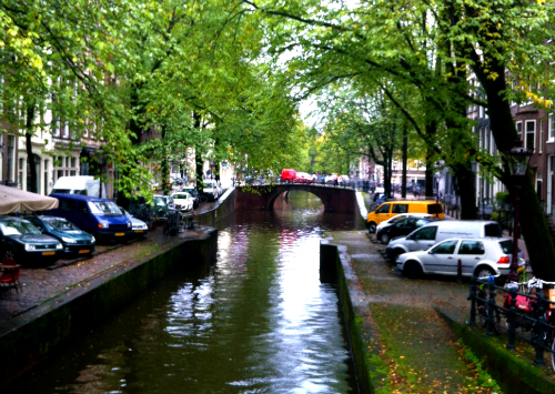 The beautiful canals