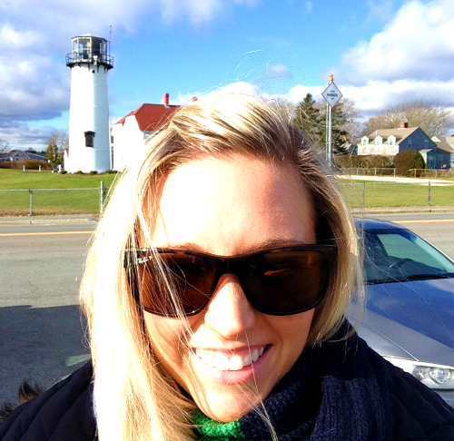 Chatham Lighthouse selfie
