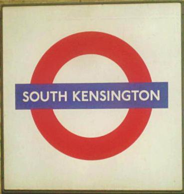 South Ken tube stop