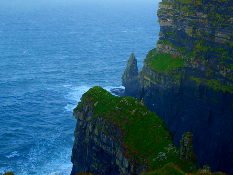 Vibrant Colors, Cliffs of Moher