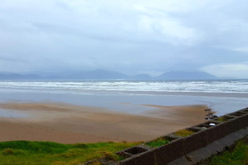 The view from Inch Beach on the Dingle Peninsula