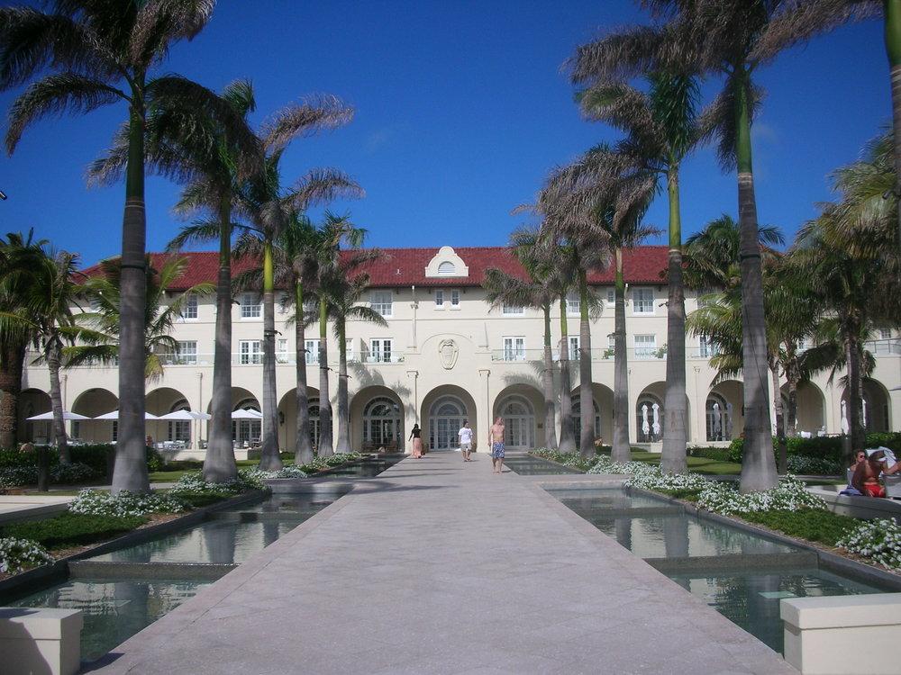 The beautiful Casa Marina Hotel