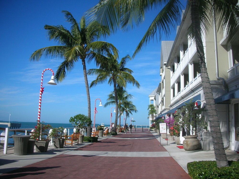 Key West decked out for the holidays