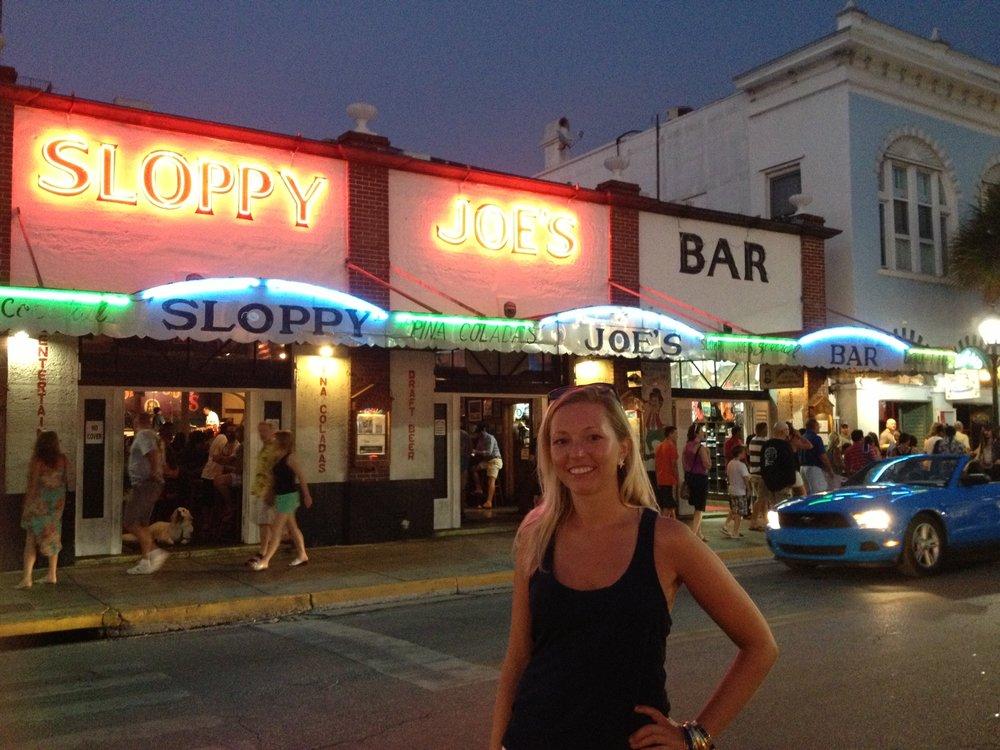 Sloppy Joe's on Duval Street is a true Key West tradition