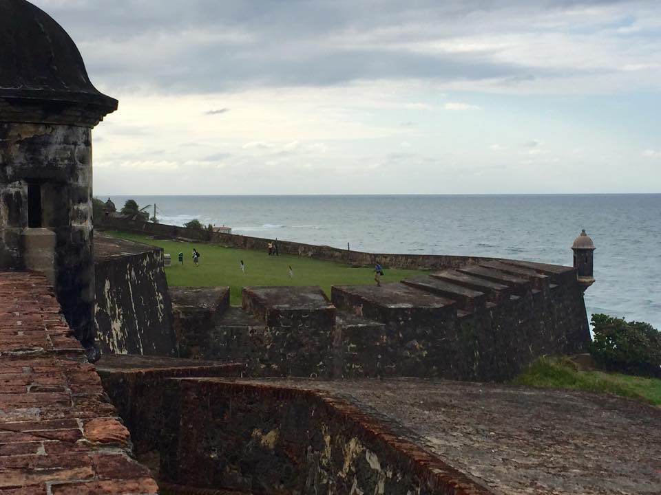Castillo San Cristóbal, one of many fortresses protecting Old San Juan