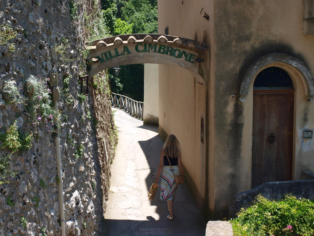 Entrance to Villa Cimbrone