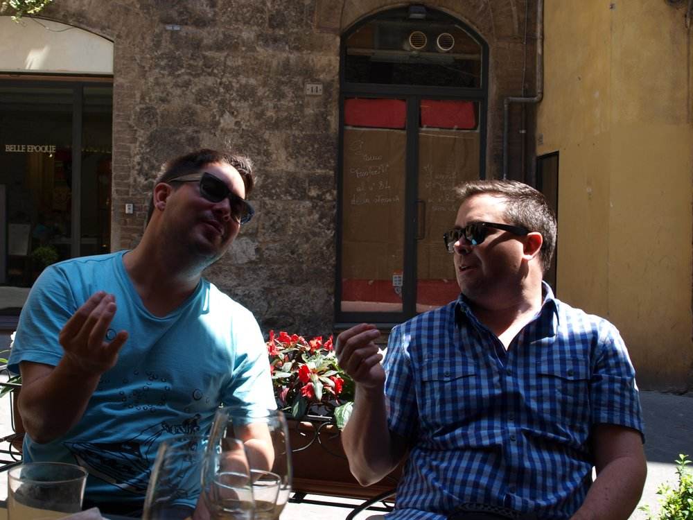 Lunch al fresco at Enoteca I Terzi
