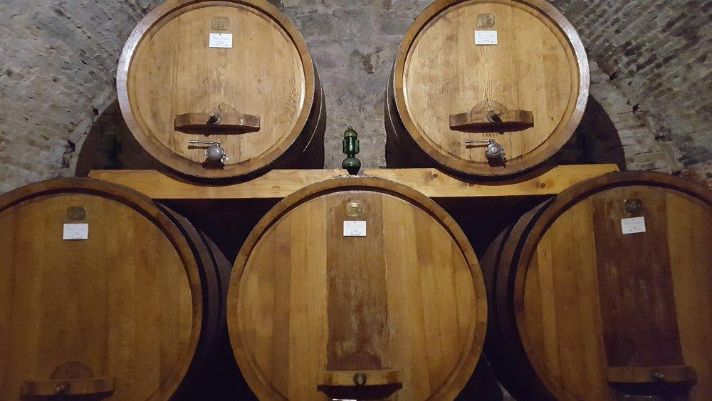 Vino Nobile di Montepulciano at Cantina Contucci