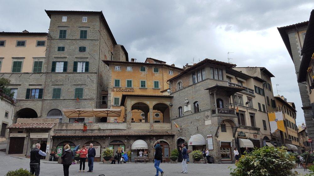 Piazza della Repubblica, Cortona