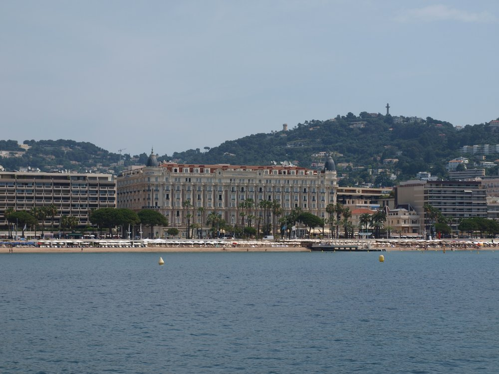 Cannes, and the historical Carlton hotel