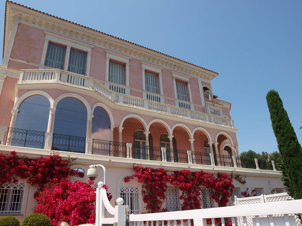Villa Ephrussi de Rothschild on Saint-Jean-Cap-Ferrat