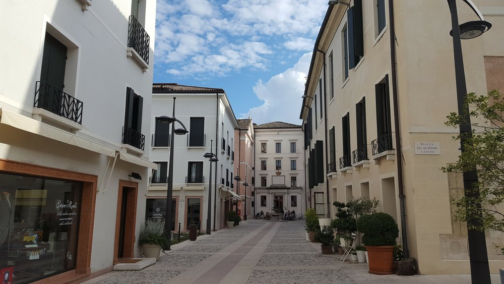The streets of Treviso
