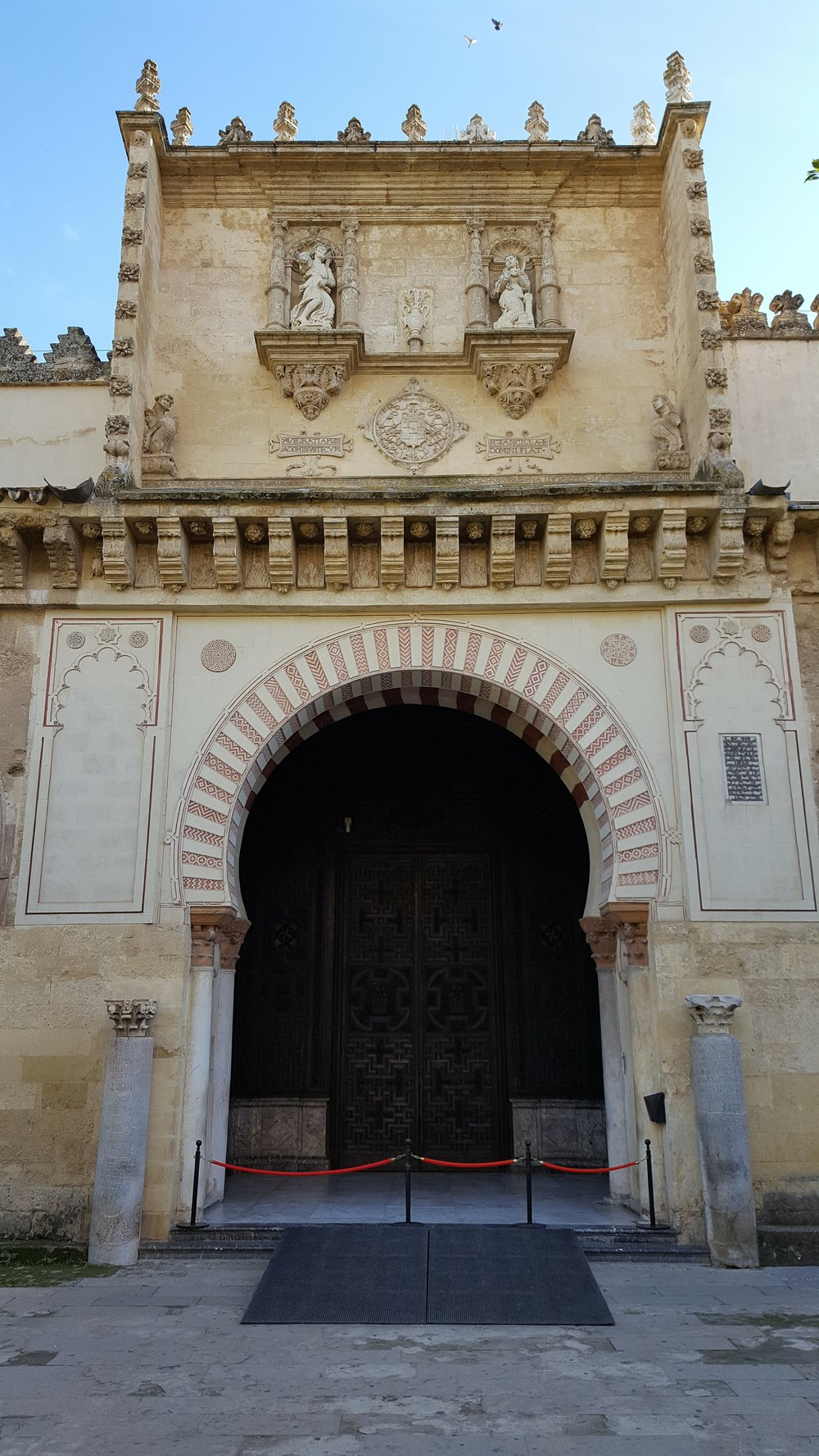 Entrance to the Mezquita in Córdoba
