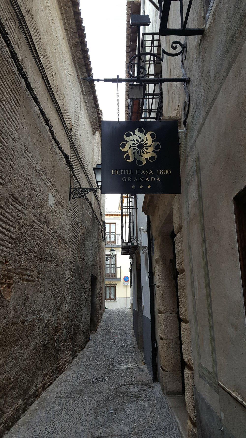 Hotel Casa 1800 in Granada
