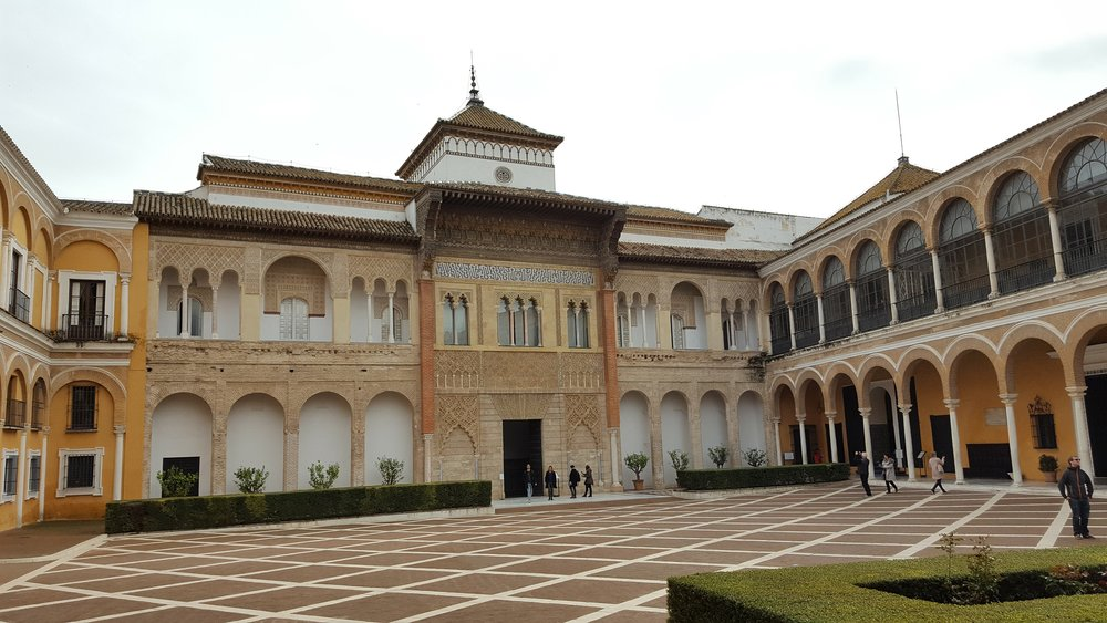Main courtyard of the Alcázar