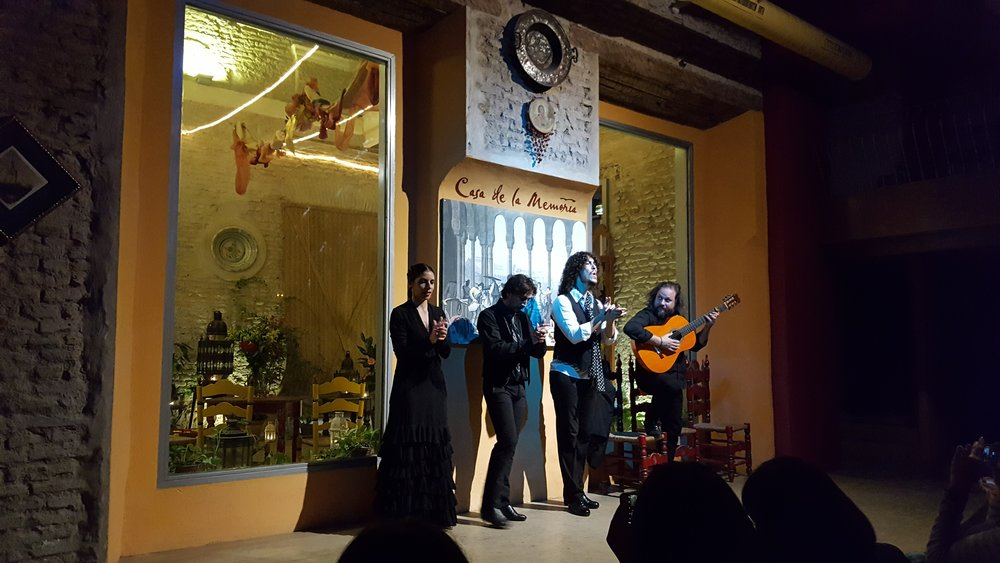 Flamenco show at Casa de la Memoria